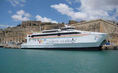 Pozzallo collegata con Malta con servizi giornalieri in Catamarano.