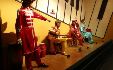 Il museo dedicato ai  Beatles a Liverpool