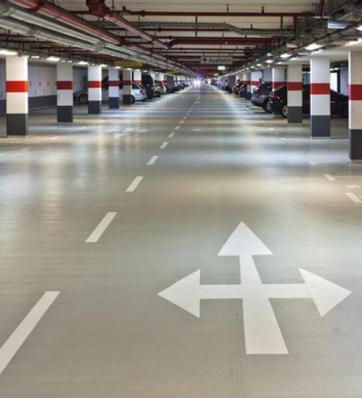 I pavimenti per garage, autosilo e parcheggi sotterranei