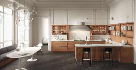 Cucine moderne con un tocco di classicità: ecco la collezione Heritage by Snaidero