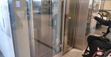 Negli ascensori per disabili quali sono le misure minime da rispettare?