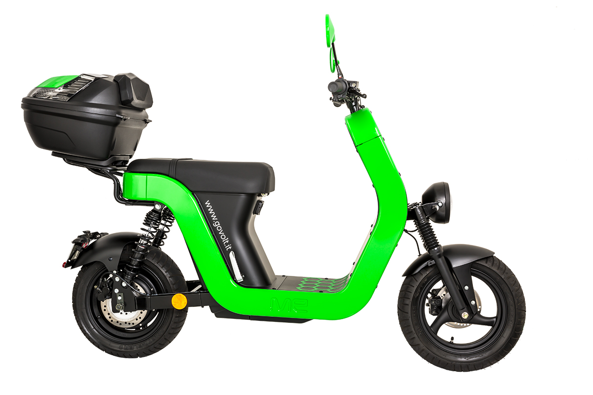 govolt mobility sharing scooter milano