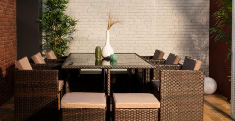 Arredamento giardino: materiali e colori giusti